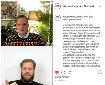 Maurice Bork und Felix Schulte