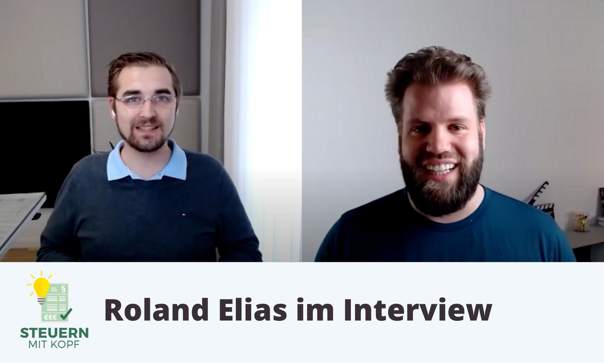 Steuern mit Kopf: Interview mit Steuerberater Roland Elias